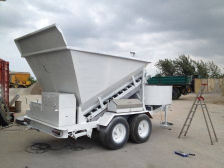 Used mobile concrete plant B 15-1200