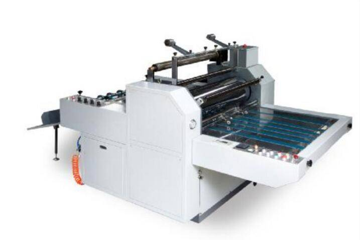 pre-glued film (also named thermal film) and glueless film auto laminating machine