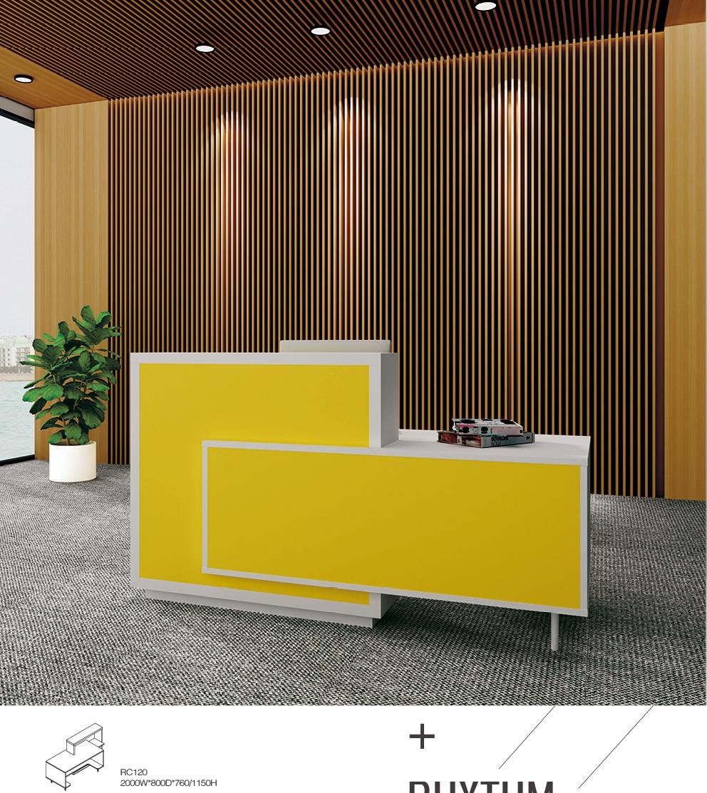 RC120 Reception Desk