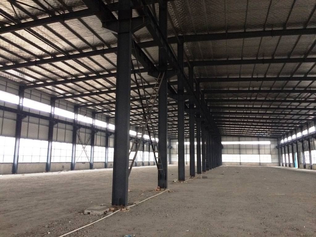 steel structure warehouse workshop beam column