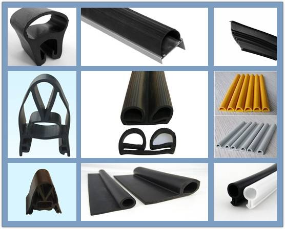 Various Types of Industrial Door Rubber Seal