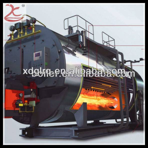 Industry 1 T capacity oil fired steam boiler