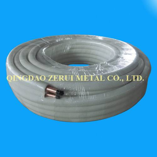 R410A Rated Insulated Air Conditioner Copper Pipe Tube