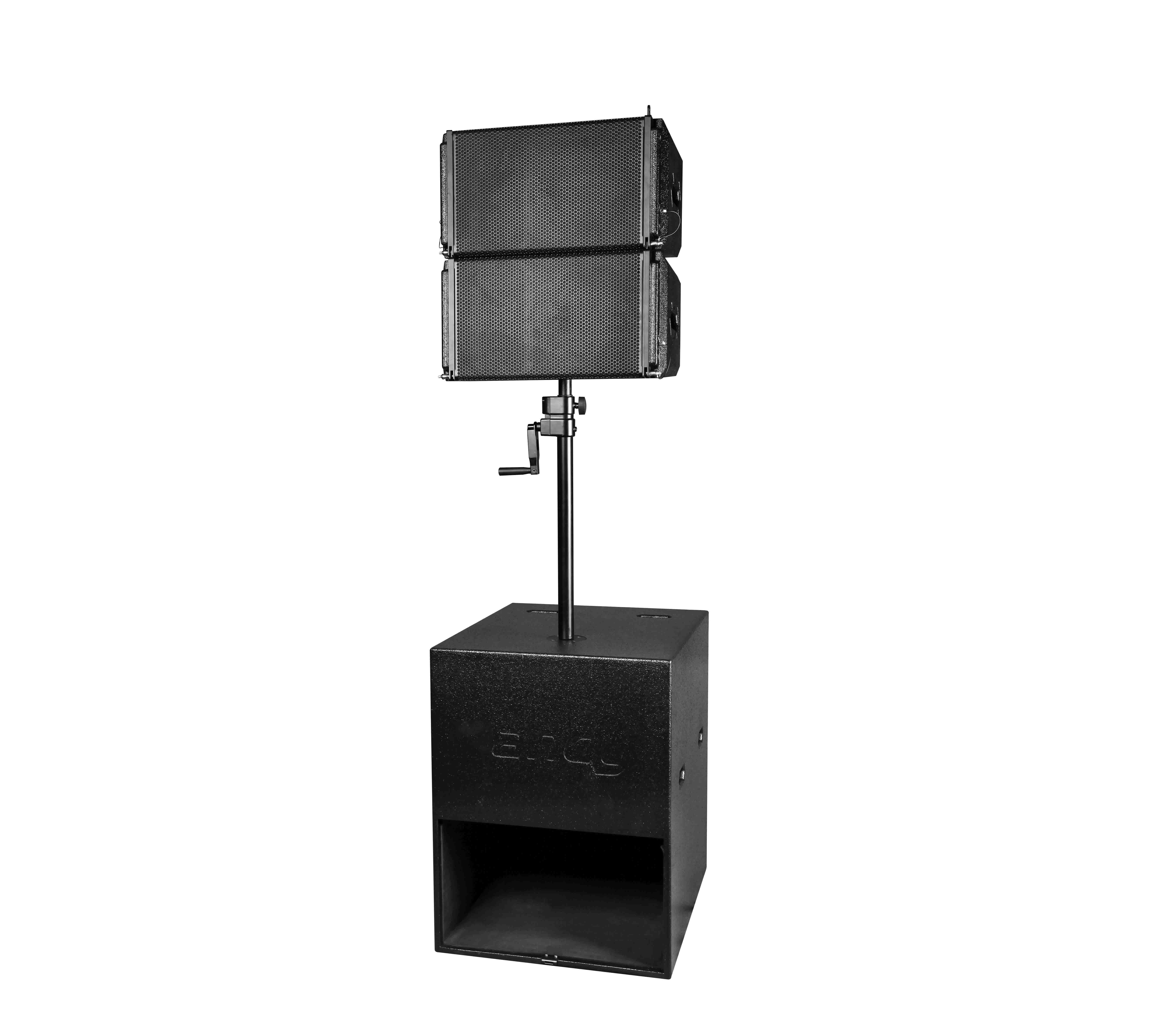 Single 10 inch outdoor waterproof active dot matrix imported unit line array speaker combination