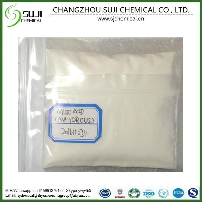 Food Grade /Industrial Grade Gallic Acid, CAS: 149-91-7