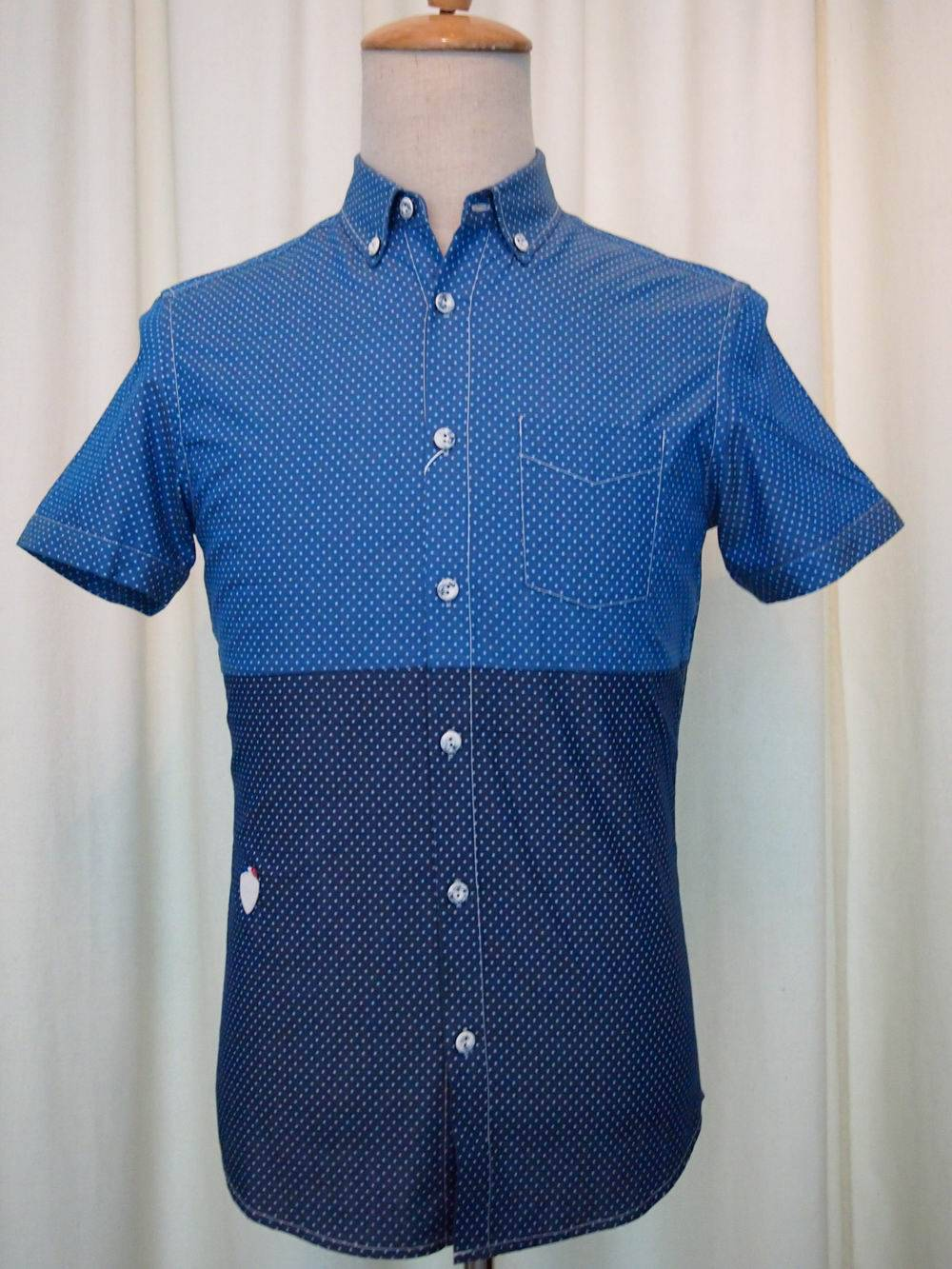 2015Fashion NEW Style Men's Short Sleeve Shirt