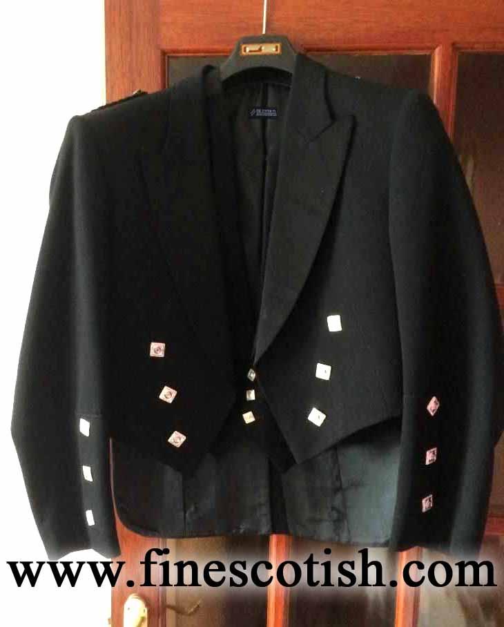 Prince Charlie Jacket & Vest/Waistcoat, Kilt Jacket