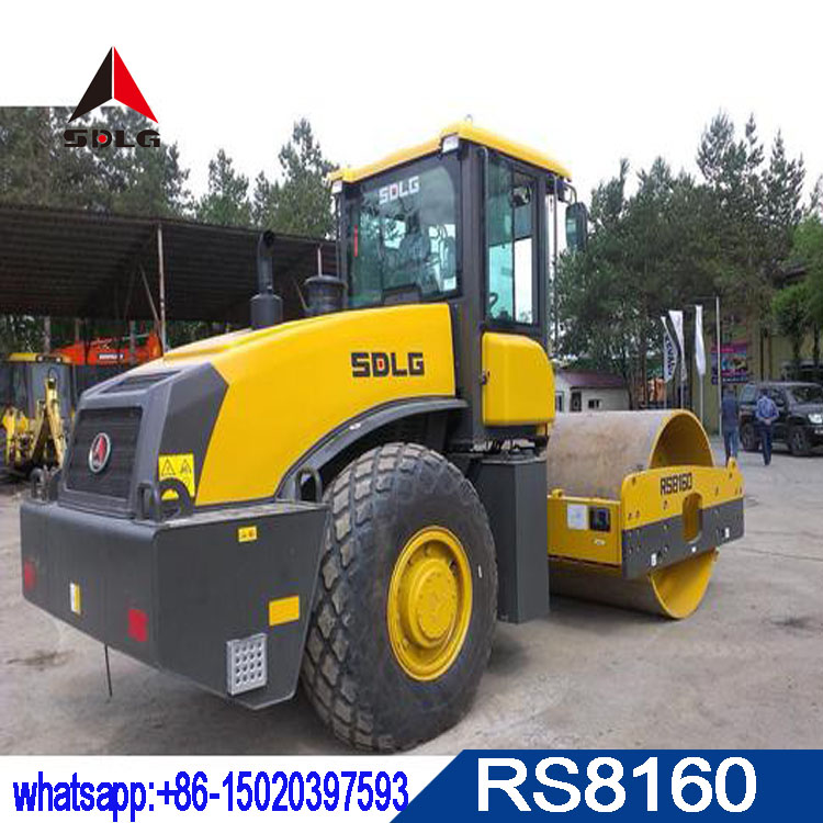 SDLG 16T road roller RS8160 with best quality and low price for sale