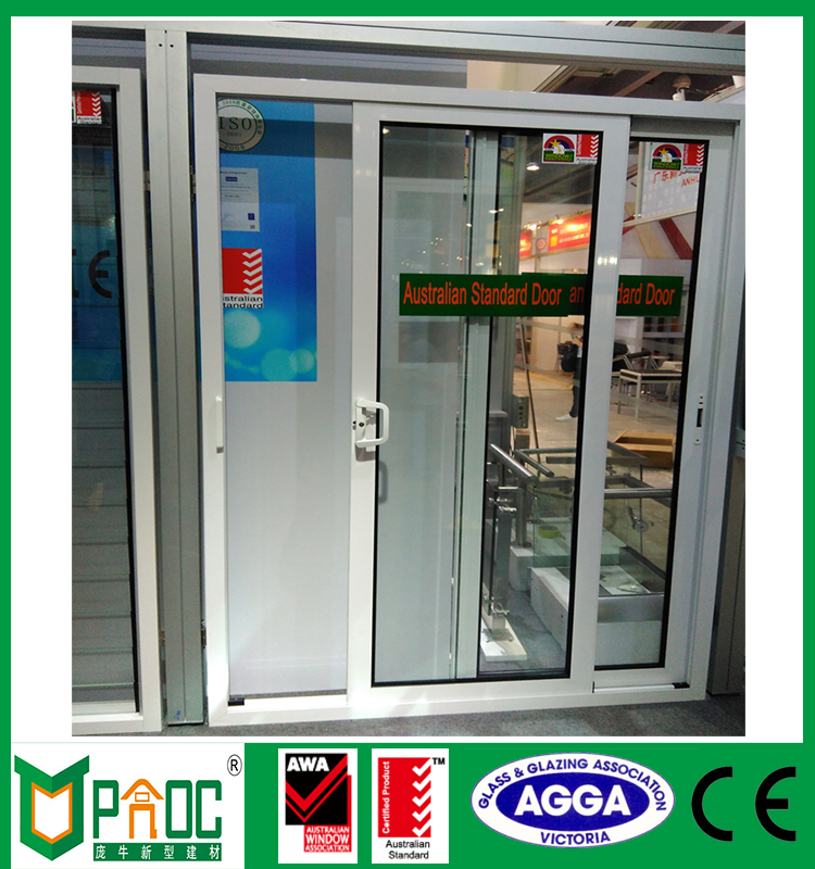 Commercial and residential aluminium sliding interior french door