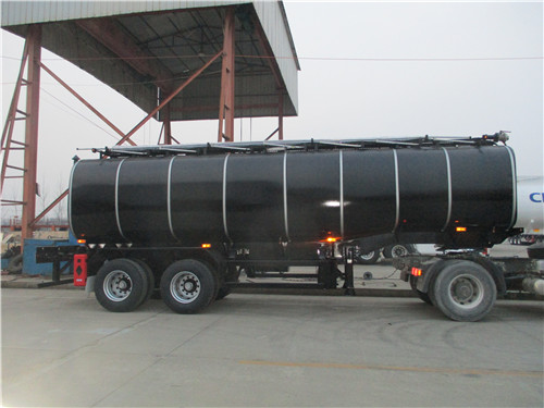 2 Axles Bituman Tanker Trailer