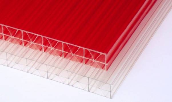 3-Wall R-Structure Polycarbonate Hollow Sheet