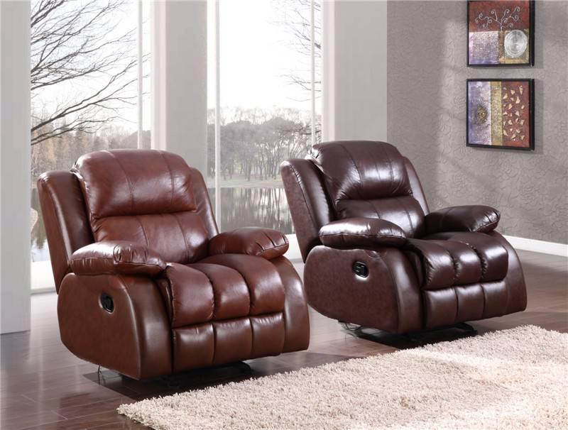 Unique PU durable cheers sofa furniture reclining sofa chair