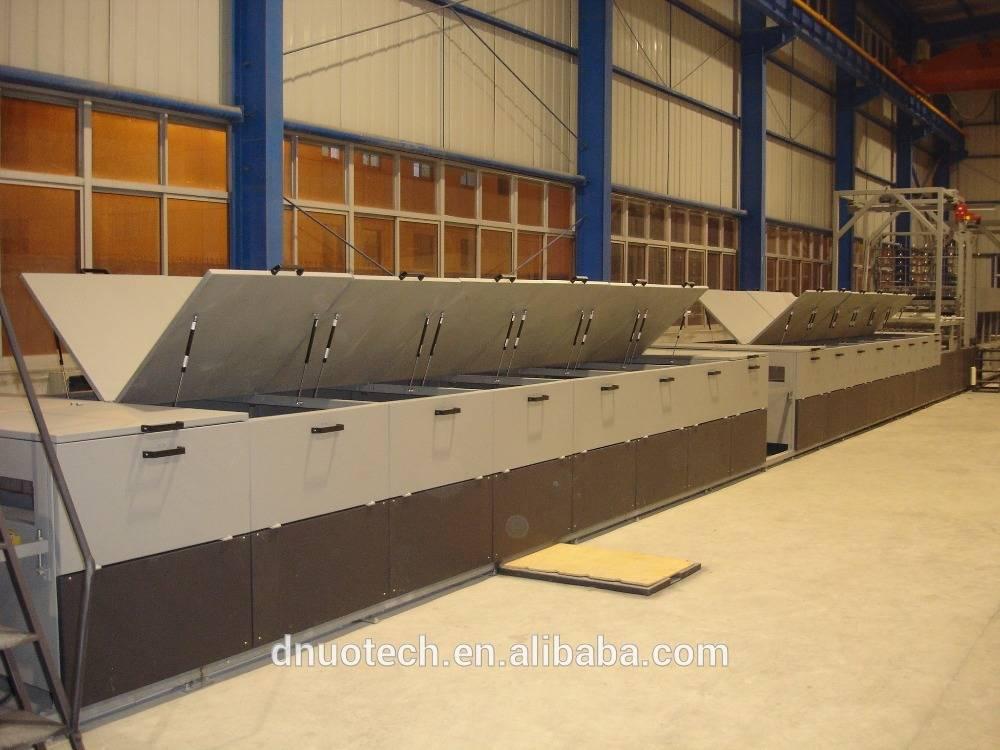Intelligent FRP lighting sheet production line