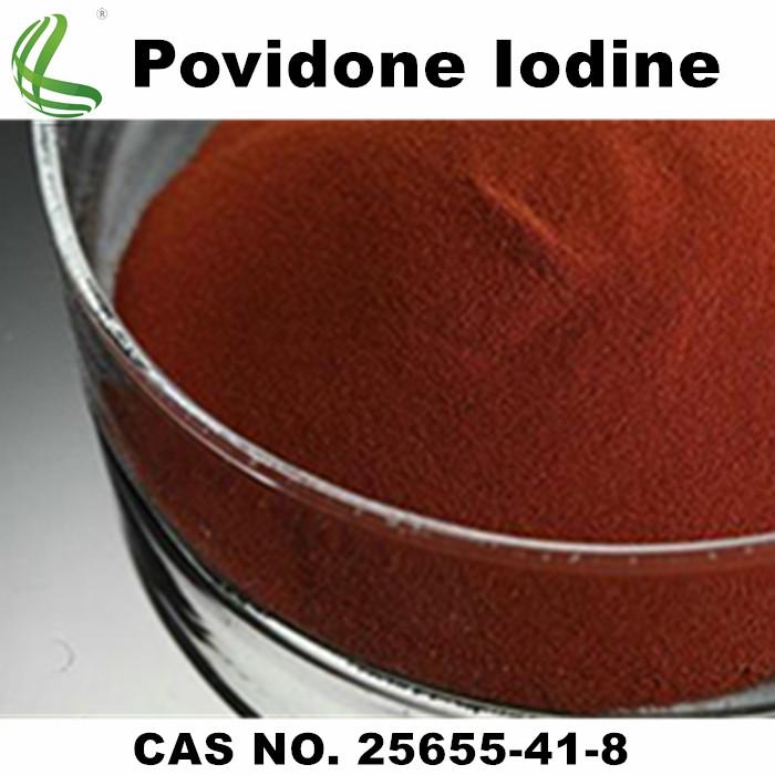 CAS No.: 25655-41-8 Pharmaceutical Povidone Iodine/ PVP Iondine Powder/ PVP-I