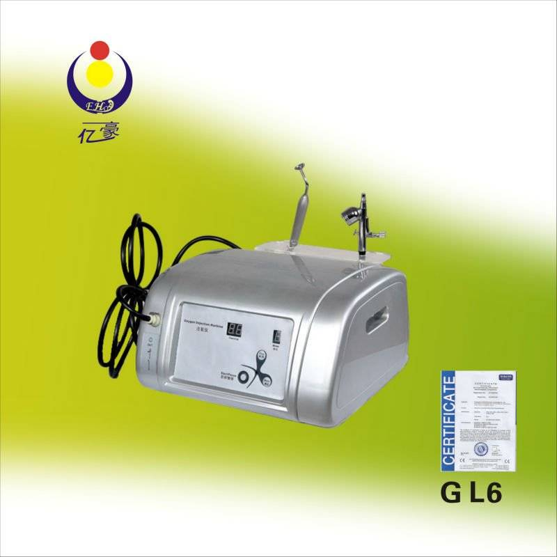 Portable Oxygen Skin Rejuvenation Beauty Equipment GL6 Facial Machine