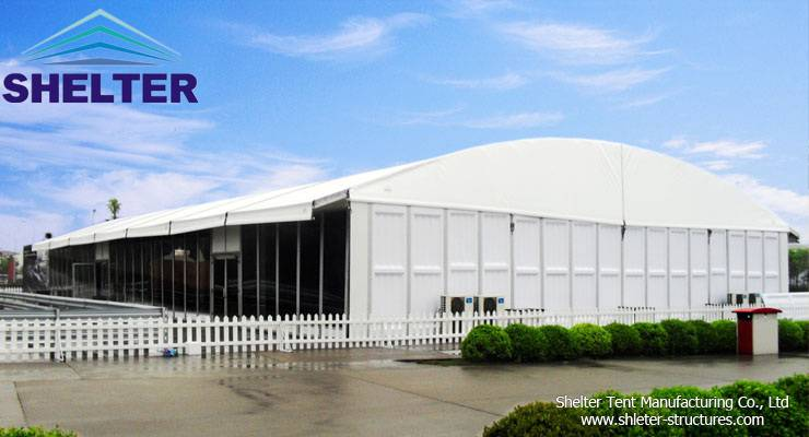 Shelter Trade Show Tent-Arch Tent-Clear Span Tent