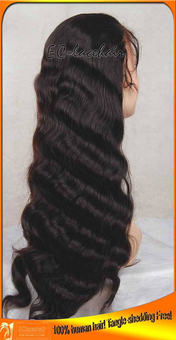 Wholesale Cheap Virgin Human Hair Body Wave Full Lace Front Wig Manufacturer for Black Women