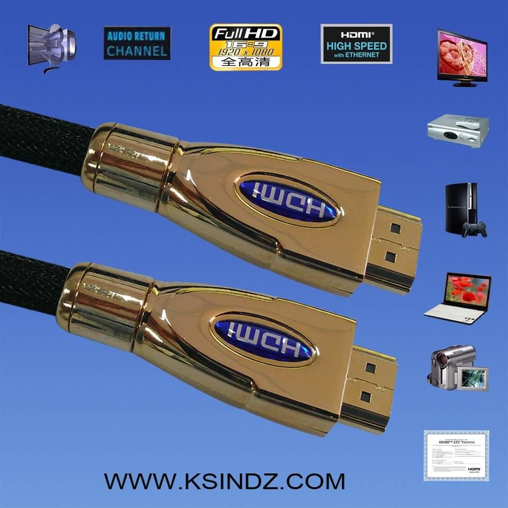 HDMI cable1.4 with Ethernet