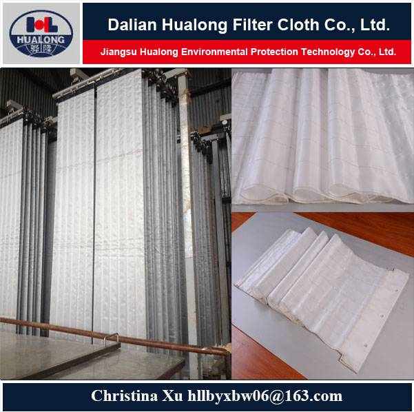 leaf filter cloth for pressure leaf filter