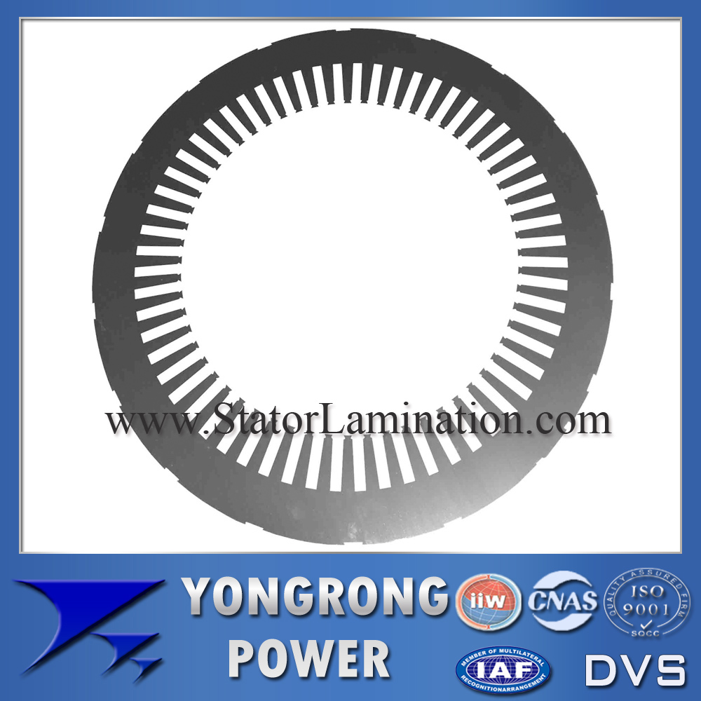 HIGH VOLTAGE ELECTRIC MOTOR STATOR SILICON STEEL LAMINATION