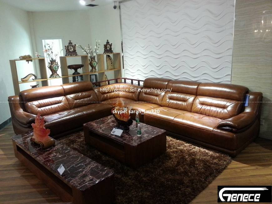 Sectional Leather Sofa BT3026#
