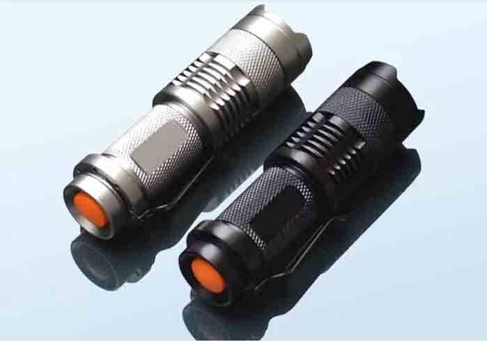 GW-M4 CREE R2 260 Lumen Bicycle LED Flashlight Torches