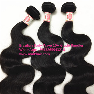 10A Grade Brazilian Hair 100% Human Hair Mink Hair Body Wave