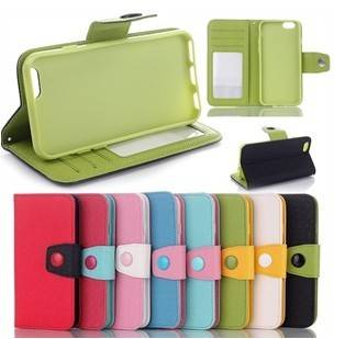 """Magnetic Flip Wallet PU Leather Stand Case Cover For Apple iPhone 6 4.7"""""""