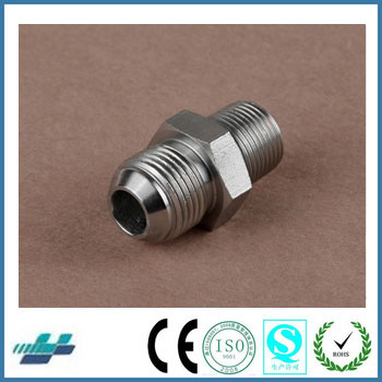 Stainless Steel Swagelok Standard JIC Male 74° Cone BSPT Male Flared Tube Fittings