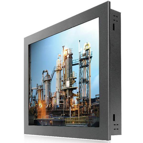 21.5inchIndustrial Panel Mount LCD Monitor/ IR, RES Touch/1000cd/RGB, DVI