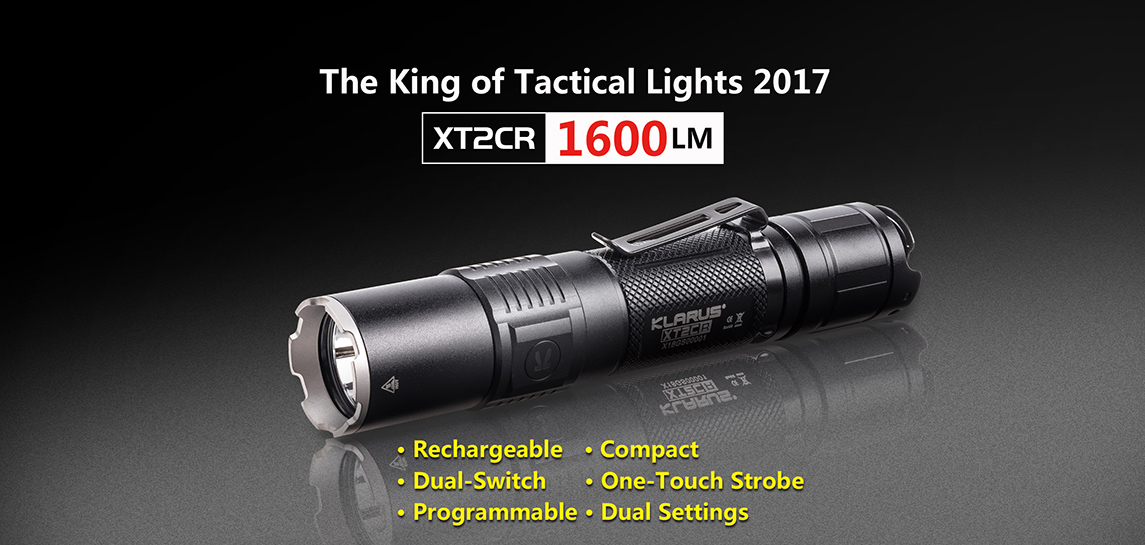 Tactical Flashlight-Klarus XT2CR