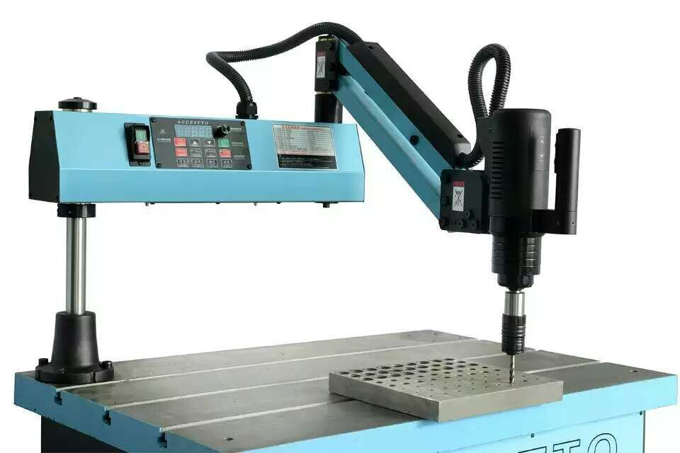 High Precision Electric Long Arm Hand Tapping Machine M6-M24