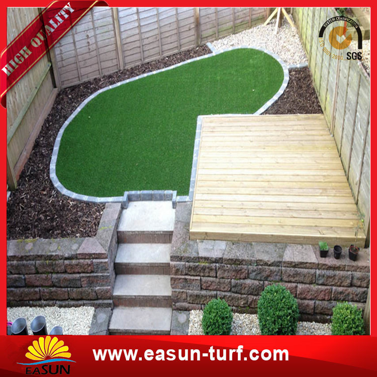 Green Turf for Garden landscape Synthetic Artificial grass-Donut