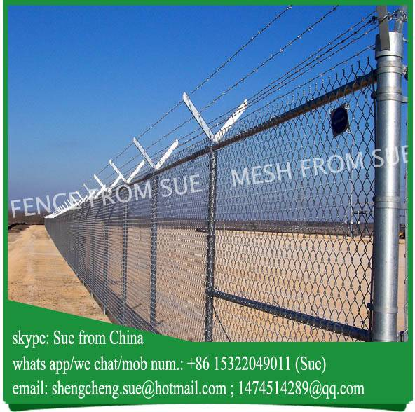 Wholesale fence factory supply iron mesh fence for Iran