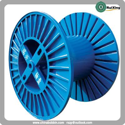 Corrugated reel Indicated for cables, ropes and strands used on a process or for shipping