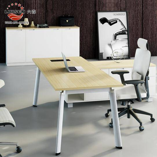 Executive Office Computer Table Modern and Fashion Office Desk1800*800mm (LS-BT-0201)