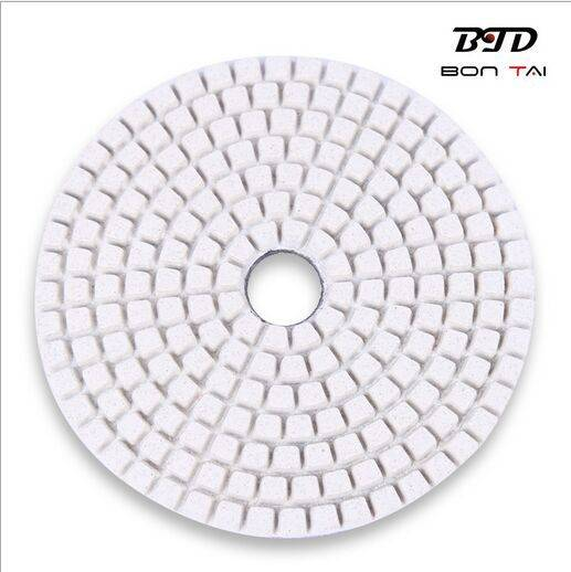 high quality granite diamond flexible wet polishing pad