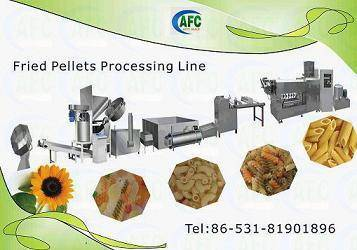 Snack Food Machine---pellet/screw/shell/chips making machine