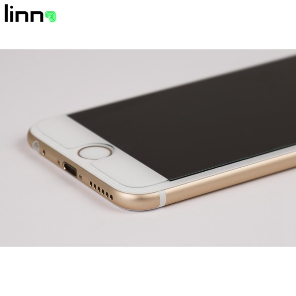 LINNO High quality 9H hardness Japan anti fingerprint Tempered glass screen protector for iphone 6s