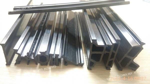 High precised polyamide 66 thermal break strip for aluminium profile