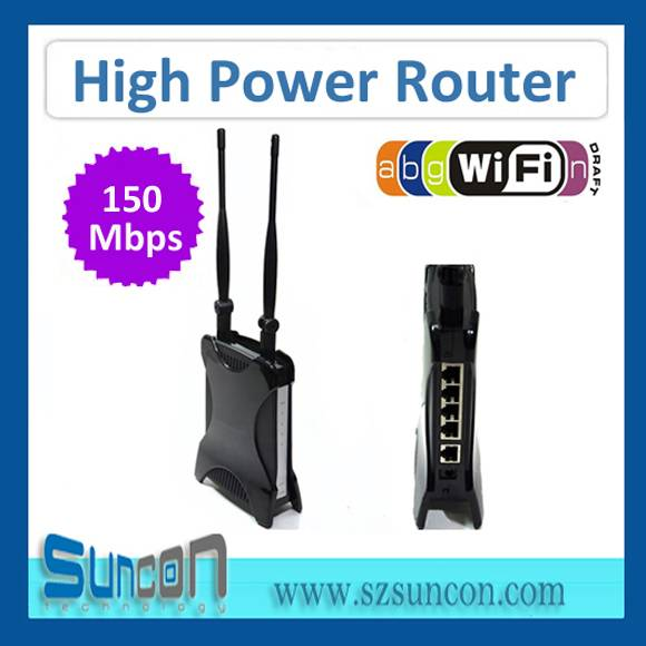 150M 1000mw WiFi Router