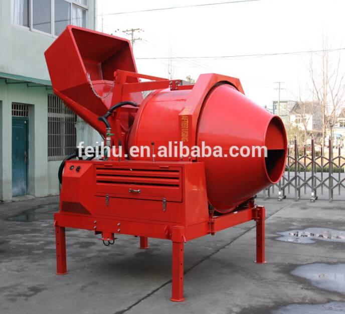 diesel engine 10HP,concrete mixer JZC350D