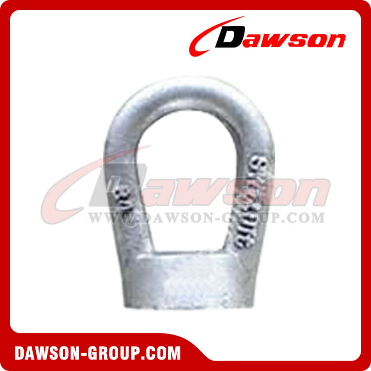 high tensile steel metric bow nuts eye nut