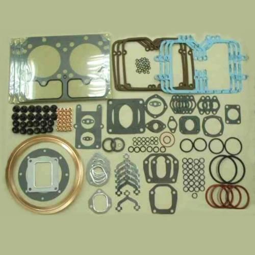 Komatsu 6D155 full set, overhaul gasket kit, compelete gasket kit