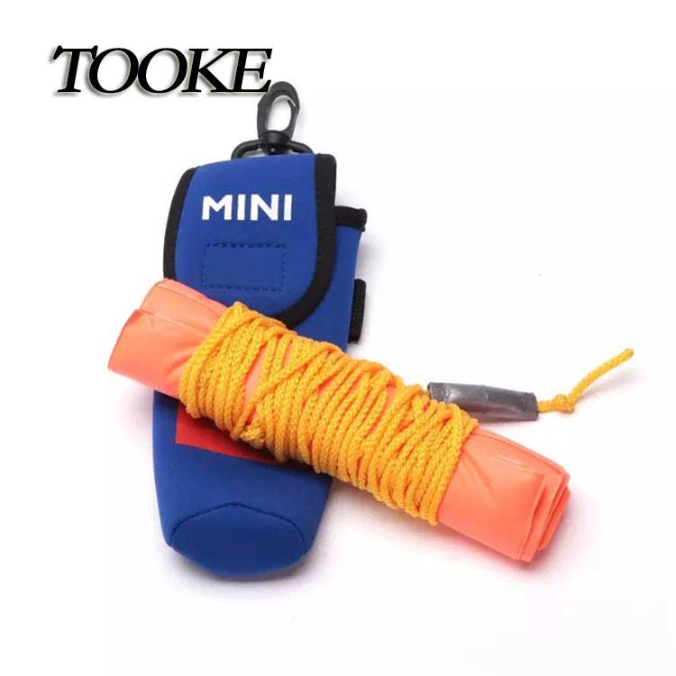 TOOKE Surface Marker Inflatable Dive Buoy Dive Rite Scuba Diving SMB See Me Float Tube Orange with b