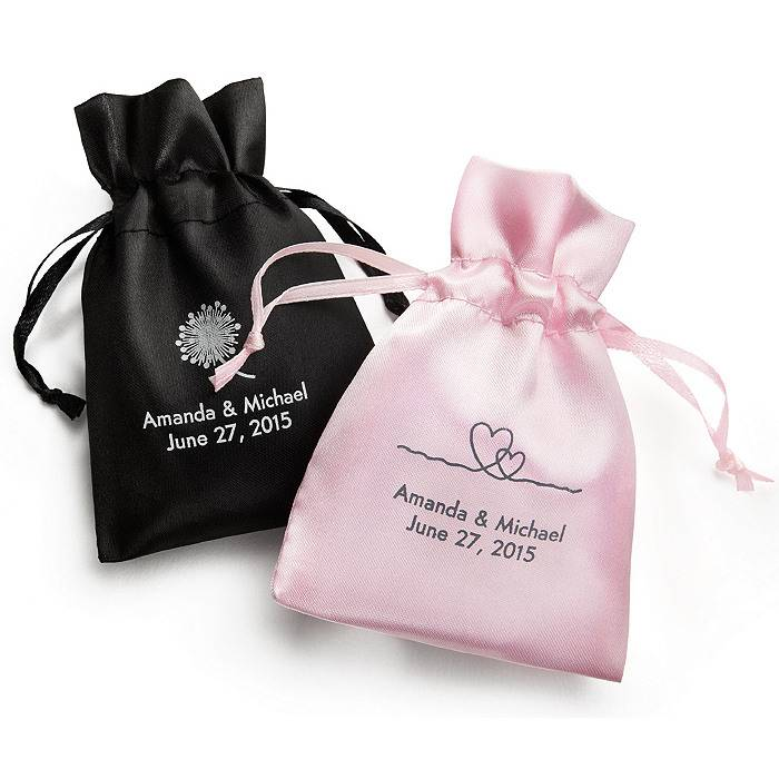 New design gifts satin packaging bag