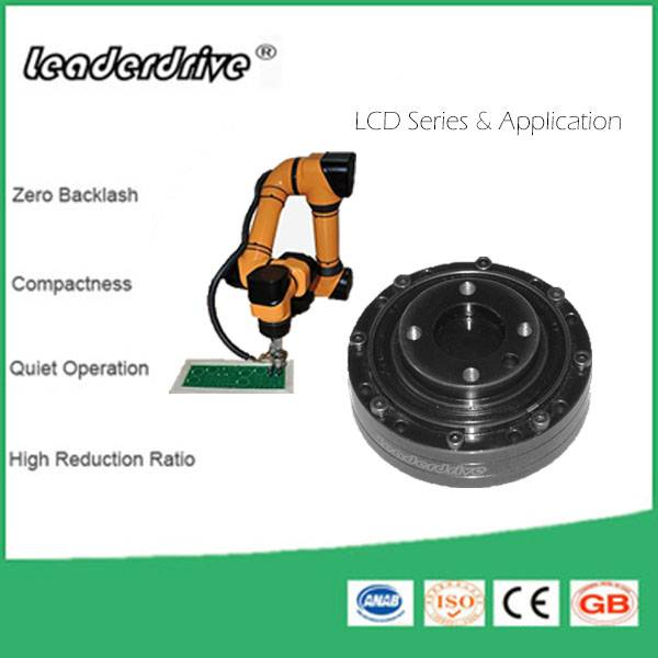 China Factory Harmonic Strain Wave Gearing Speed Reducer for Industrial Robotics