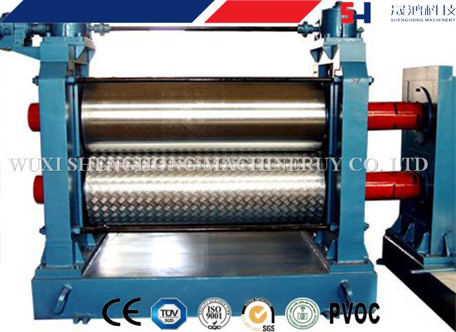 Automatic Hydraulic Embossing roll forming machine