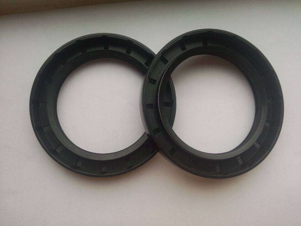 Black NBR Double Lip TC Rotary Shaft Oil Seal