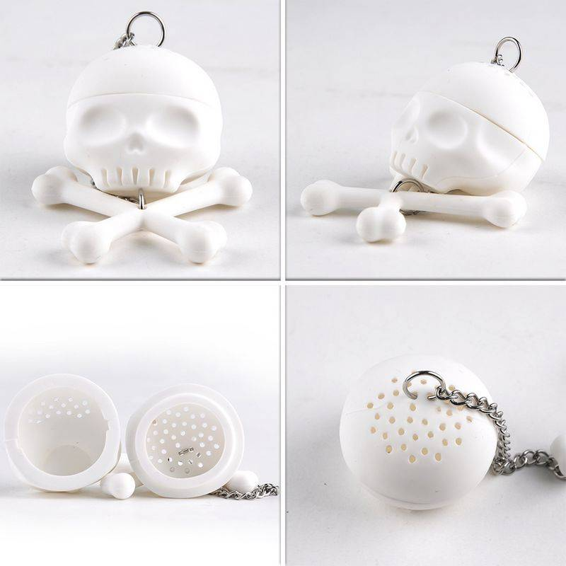 Novelty Skull shaped tea infuser